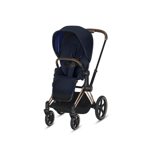 Cybex Priam Rose Gold Indigo Blue