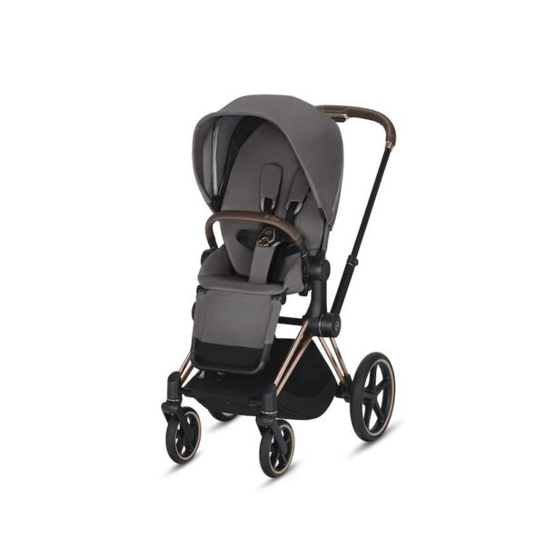 Cybex Priam Rose Gold Manhattan Grey