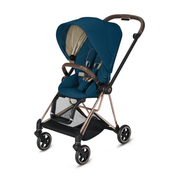 Cybex Mios Rose Gold Mountain Blue