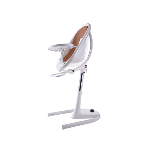 Mima High Chair Moon White Inlay Camel