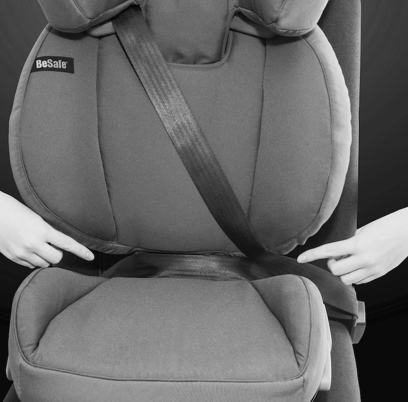 BeSafe iZi Up X3 Fix Belt Position