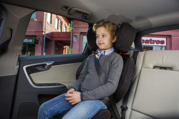 BeSafe iZi Up X3 Fix in Car