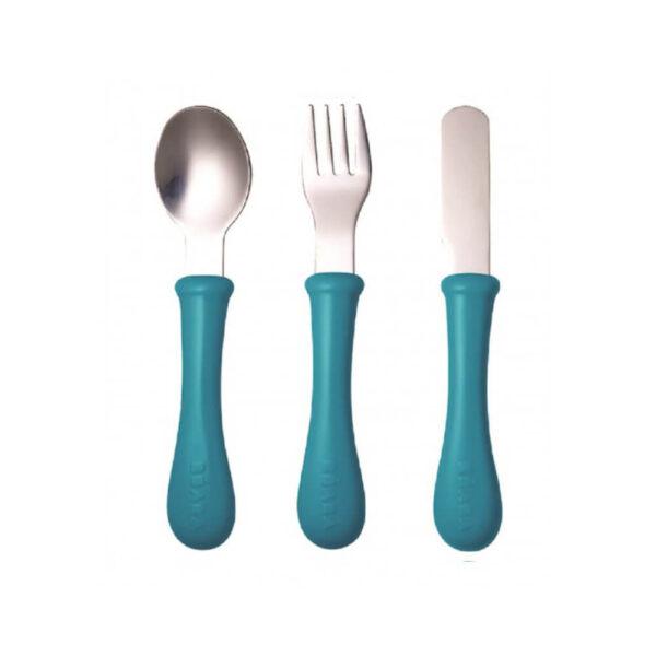 Cutlery Set Todler Blue