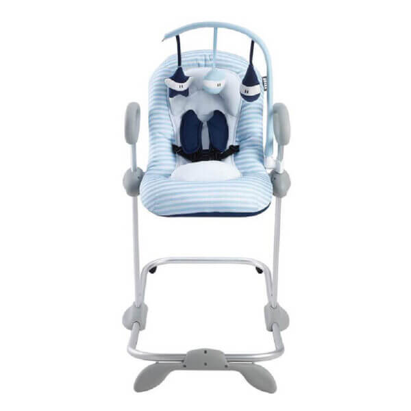 Beaba Bouncer Up Down Blue Toy