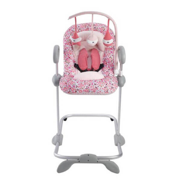 Beaba Bouncer Up Down Pink Toy